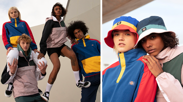 "Dickies Launches Retro-Inspired ""Color Block"" Collection"