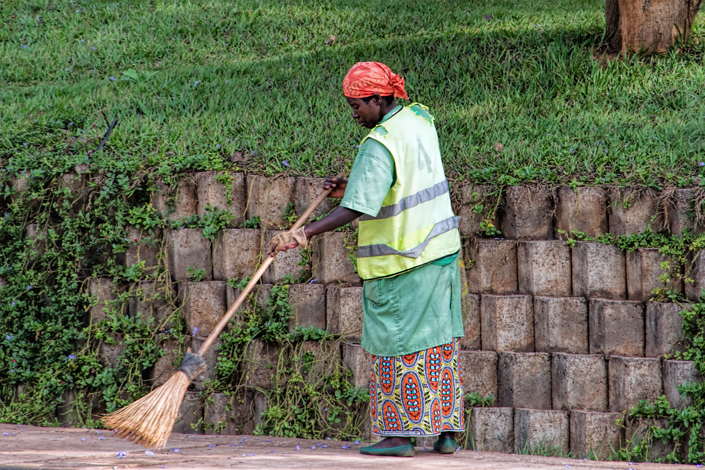 Kigali The Cleanest City; The Unsung Heroines