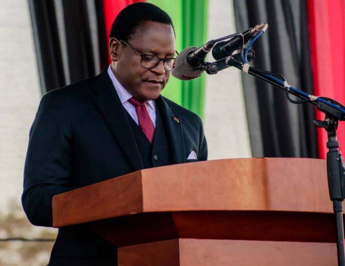 Lazarus Chakwera inaugurated as Malawi's new president.
