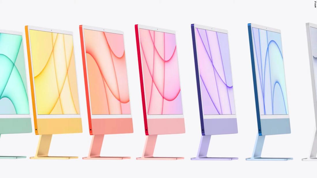 Apple unveils new products including iPad Pro, colorful ...